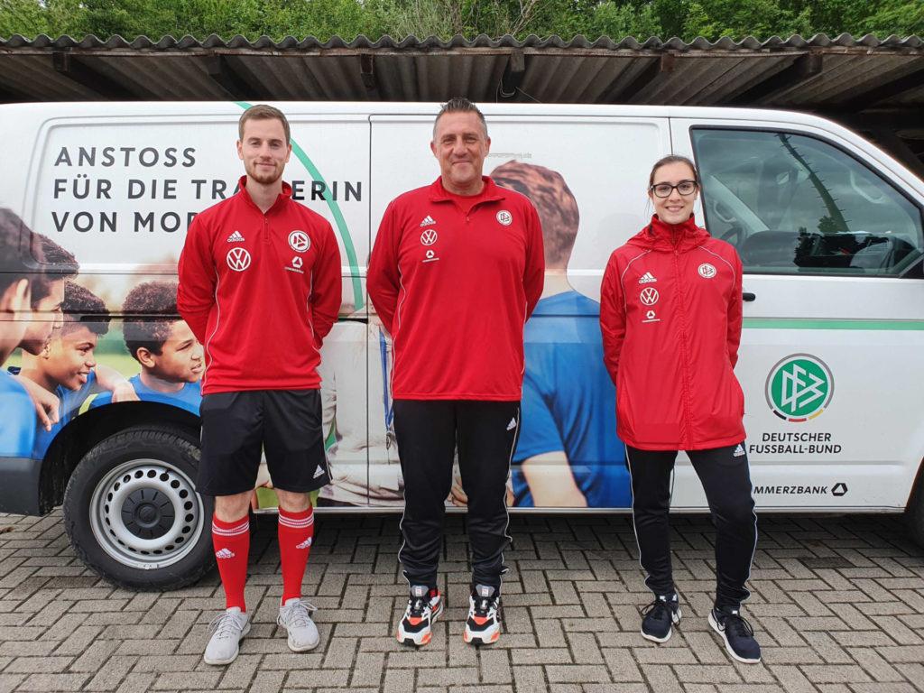 Besuch vom DFB-Mobil